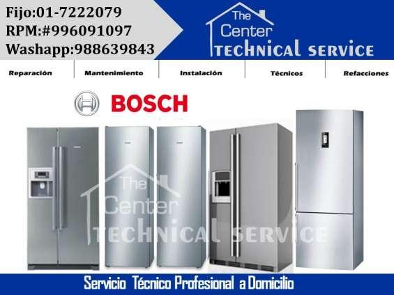 Mantenimiento? 7222079*refrigeradoras bosch servicio tecnico