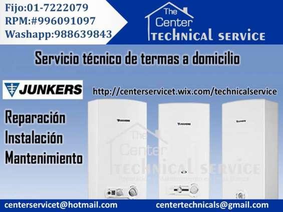 Termas junkers?-servicio tecnico calentadores-rhemm-silverstone!!reparacion